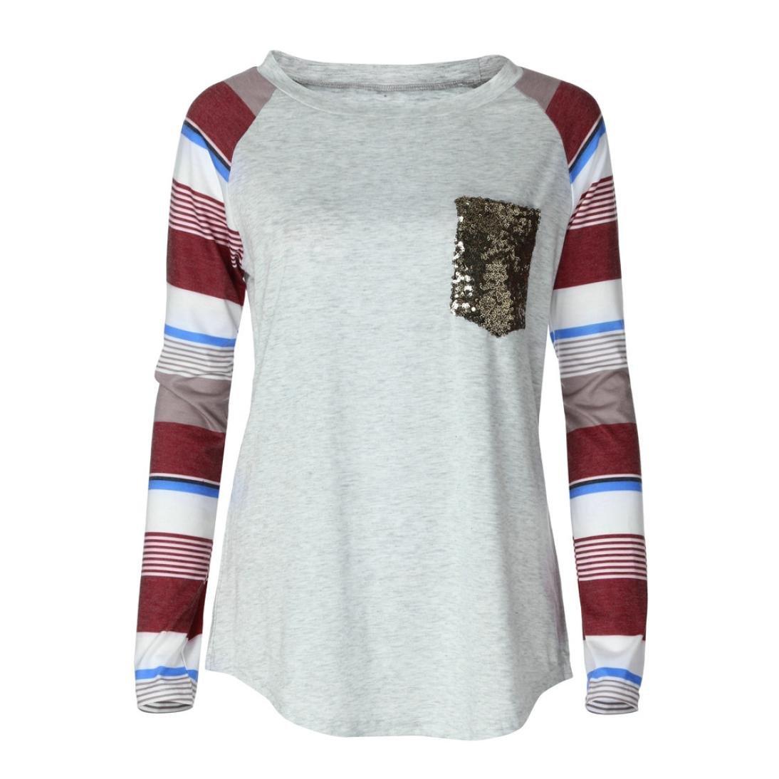 ... Casual Manga Larga básica Inferior Camiseta Tops suéter Chaqueta Sudadera Blusa Camisa Mono Vestido Pijamas Traje Ropa (S): Amazon.es: Ropa y accesorios