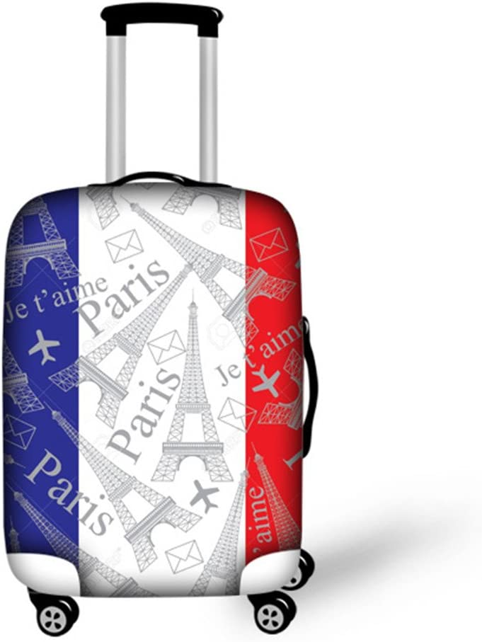 Travel Luggage Cover Elastic Suitcase protector Fit 18/'/'-30/'/' Luggage