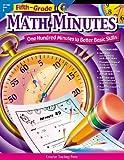 Math Minutes, 5th Grade by Sarah M. Fornara (2002-03-27)