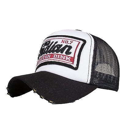 Tleegu Gorras de béisbol, Gorra Bordada de Verano para Hombres y Mujeres, Sombreros Casuales