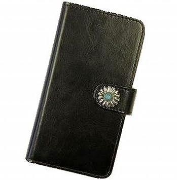 【クリックで詳細表示】AQUOS PHONE 102SH スマホケース 手帳型 カバー コンチョ