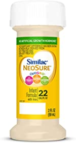 Similac NeoSure Infant Formula with Iron, for Babies Born Prematurely, Ready-to-Feed