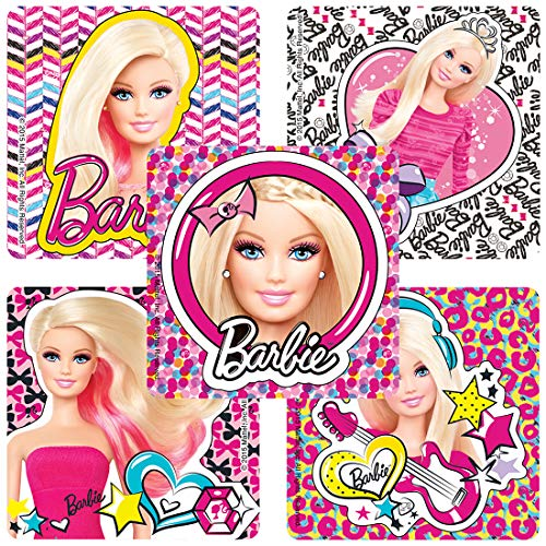 SmileMakers Barbie Pics Stickers - Prizes 100 per Pack -