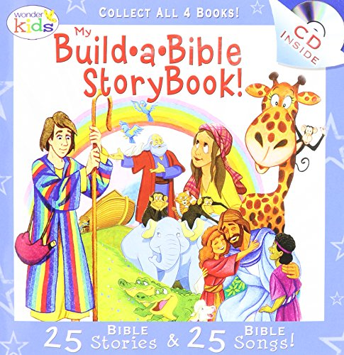 My Build-a-Bible StoryBook! (25 Bible Stories & 25 Bible Songs, Assorted, Styles Vary)