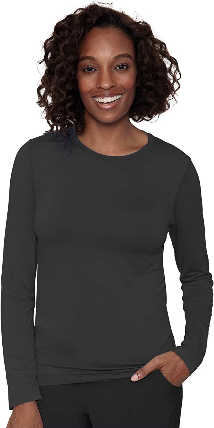 Med Couture Performance Longsleeve Knit Tee for Women