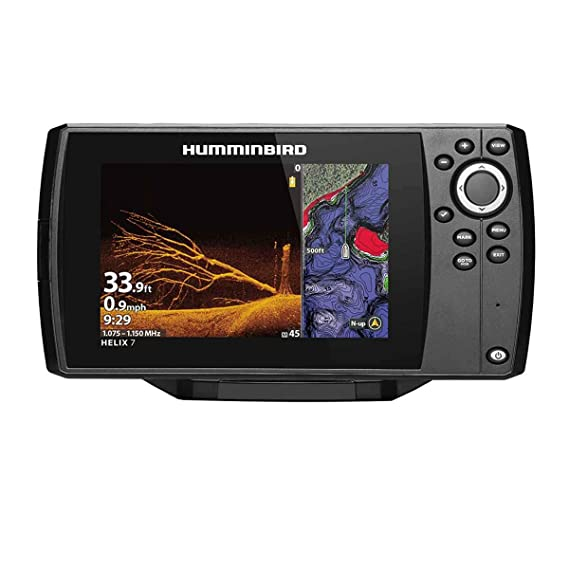 Helix 7 Chirp MEGA DI GPS G3N CHO Fishfinder with Bluetooth & Ethernet
