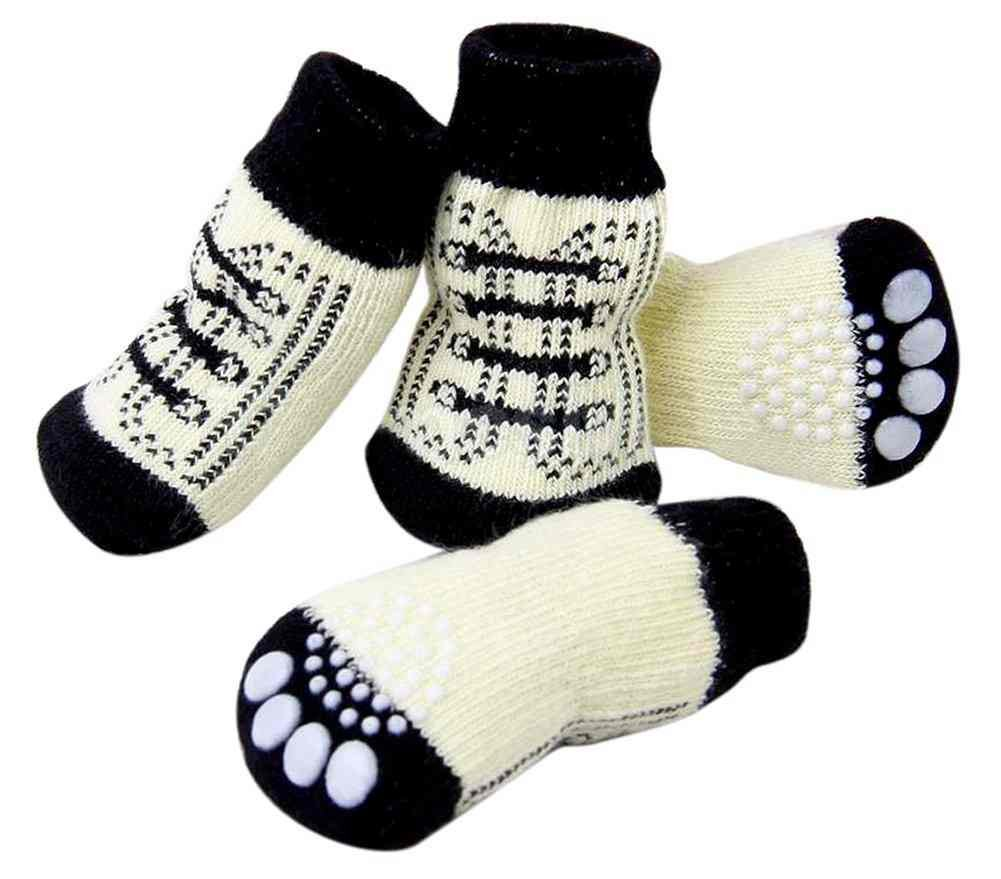 Samgu Perro Calcetines Antideslizantes para Mascotas Gato Perrito Doméstico Animal