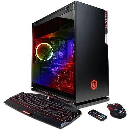 CYBERPOWERPC BattleBox Essential GLC5000CPG Gaming PC (Intel i7-8700K  3 7GHz, 16GB DDR4, NVIDIA GeForce GTX 1060 6GB, 120GB SSD, 2TB HDD, WiFi &  Win10