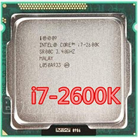 Intel Core I7-2600K 3.4GHz SR00C Quad-Core LGA 1155 CPU I7 2600K Processor