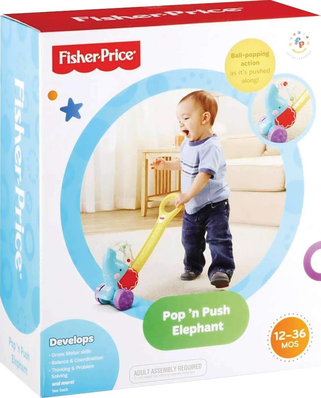 Fisher-Price - Elefantito Pelotas saltarinas (Mattel Y8651)