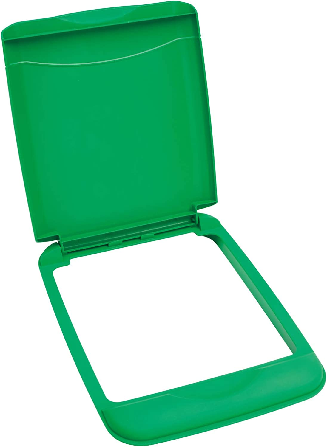 Rev-A-Shelf RV-35-LID-G-1 35-Quart Polymer Trash Waste Recycling Container Replacement Lid, Green
