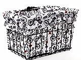 Cruiser Candy Reversible Bike Basket Liner (I Love My Bike) by Cruiser Candy