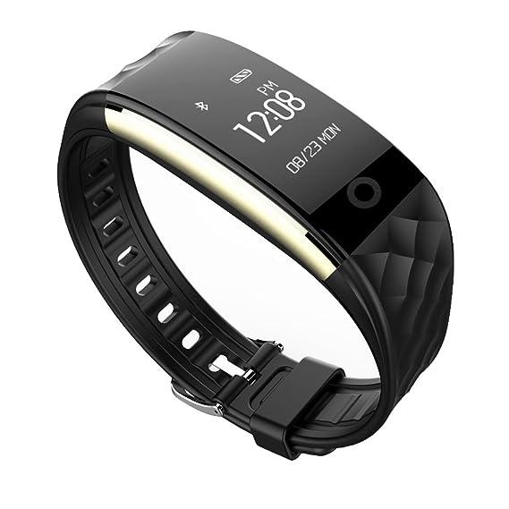 Jcotton Bluetooth Smart Watch IP67 impermeable Smart pulsera monitor de ritmo cardíaco deportivo pulsera Fitness Tracker Multi-Sport modo salud monitor ...