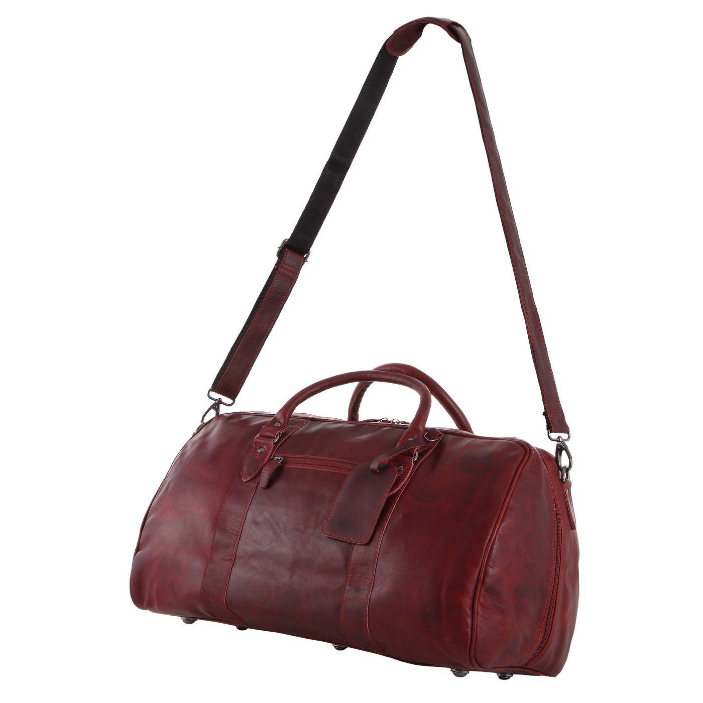 ce97704e72315 Rada Nature Reisetasche  Vigo  echt Leder Tasche in Verschiedenen Farben  (schwarz)  Amazon.de  Koffer