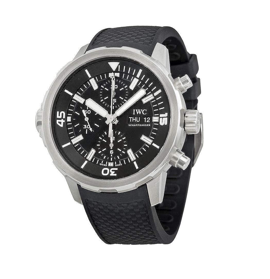IWC Watch, Date Display, Swiss Watch, Black Watch, Luxury Watch, Sports Watch
