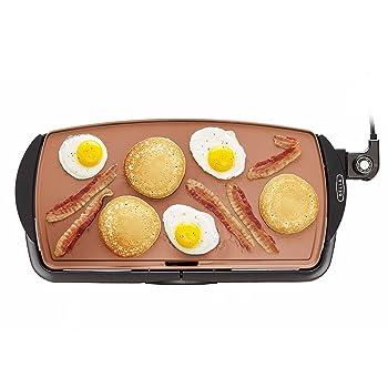 BELLA Copper Titanium Coated Pancake Griddle