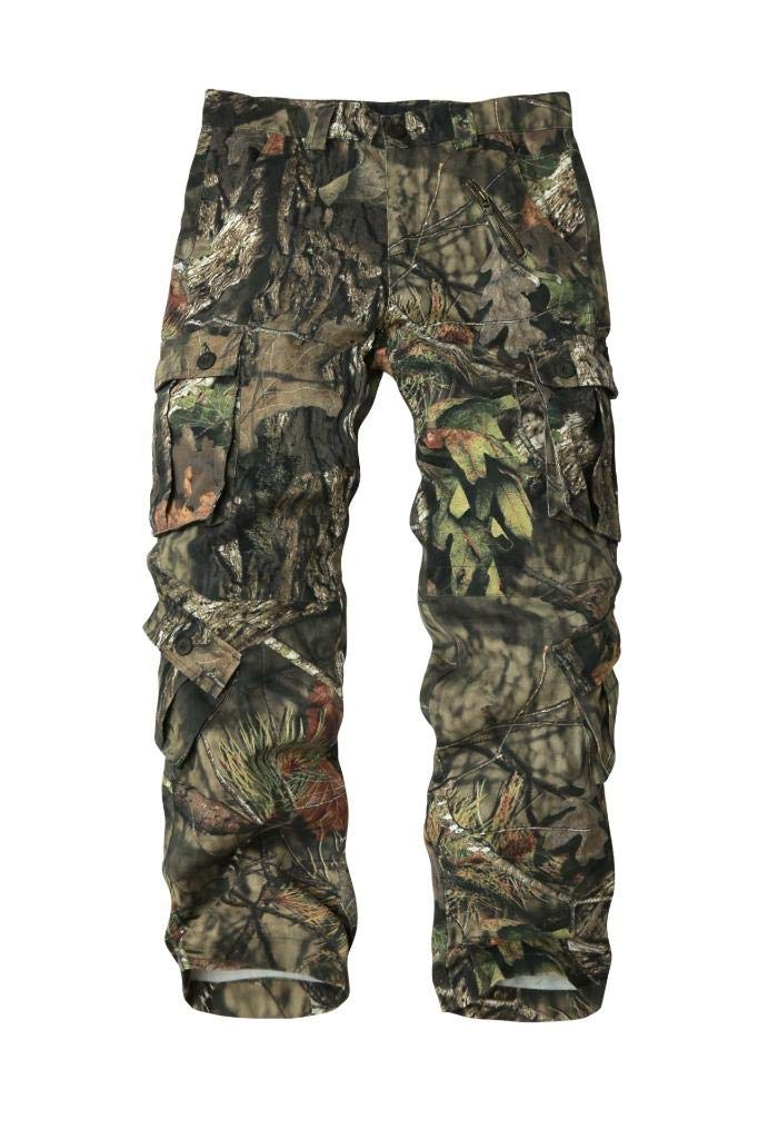 AKARMY Must Way Men's Cotton Casual Military Army Cargo Camo Combat Work Pants with 8 Pocket 3357 Tree Camo 38