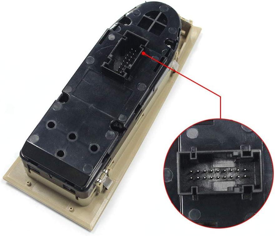 Fydun Interruttore generale elettrico per alzacristalli per alzacristallo elettrico principale per E90 2005-2011 E91 2004-2011