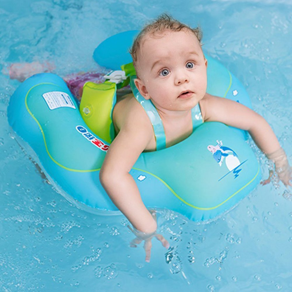 GEYUEYA Home Anillo de Flotador para bebé Anillos de baño para Nadar recién Nacidos Ayuda de Seguridad para el: Amazon.es: Hogar