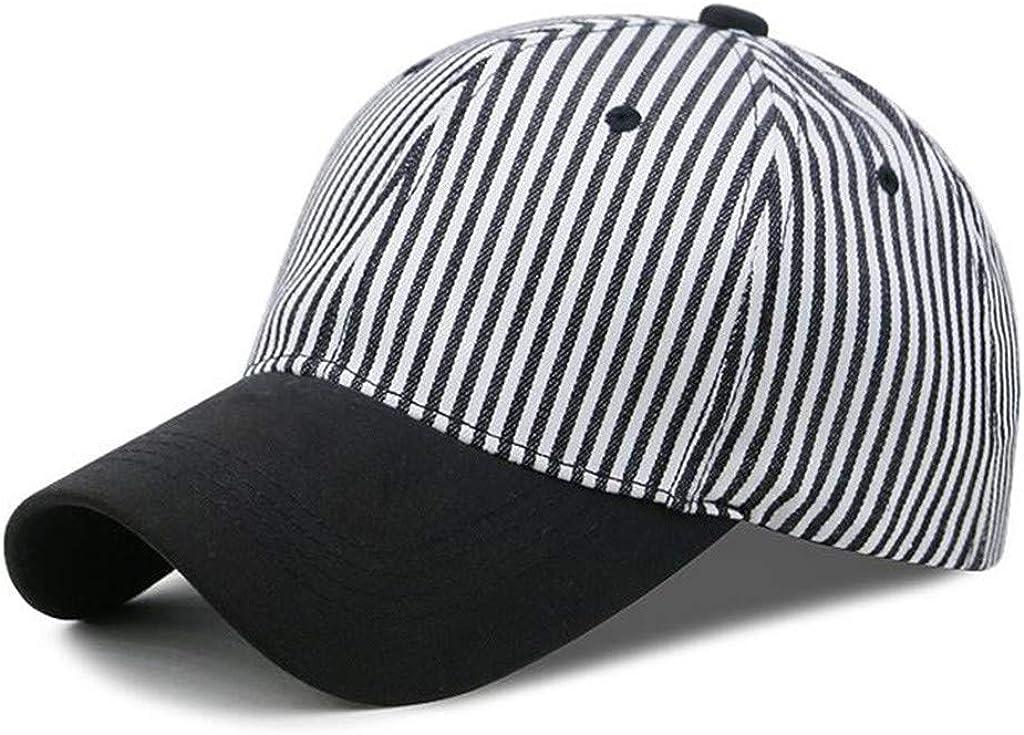 TWIFER Gorra de béisbol, Unisex Sombreros A Rayas De Playa para al ...