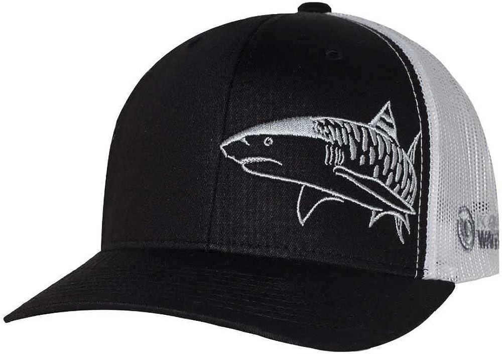 Tiger Shark Hat: Scuba Diving Trucker Cap: Freediving