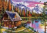 Buffalo Games - The Fishing Hut - 300 Large Piece Jigsaw Puzzle