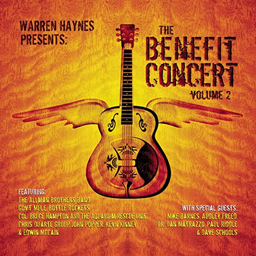 CD : Gov't Mule - The Benefit Concert, Vol. 2 (CD)