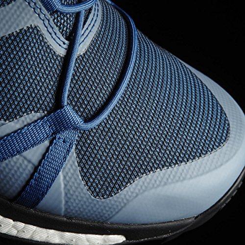 adidas Terrex Agravic Gtx, Zapatos de Senderismo para Hombre, Azul (Blu Azubas/Negbas/Limuni), 44 EU