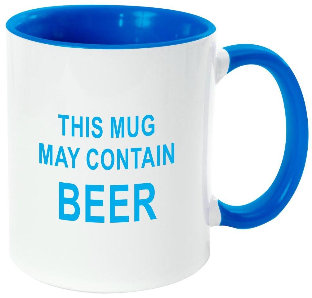 "Rikki Knight Funny Saying ""ワインは定数Proof "" – 面白い引用デザイン11オンスセラミックコーヒーマグカップ Light Blue DIS-mugs-LTBLUE-3415 B06XWVT7JF Light Blue|maybeer maybeer Light Blue"