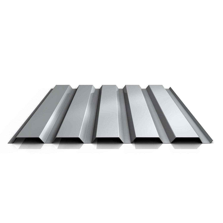 Farbe Graualuminium Profil PA35//1035TW Wandblech Material Aluminium St/ärke 0,70 mm Beschichtung 25 /µm Trapezblech Profilblech