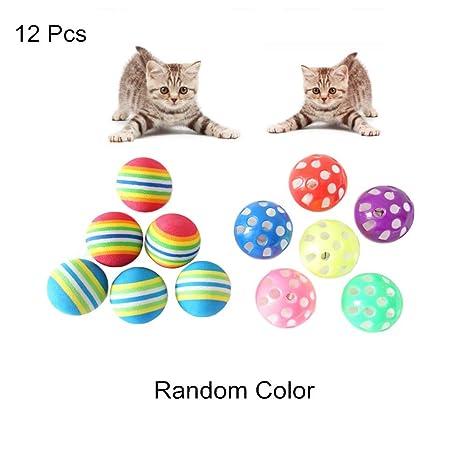Amazon.com: HAMIYA Pelotas de juguete para gatos, bolas de ...