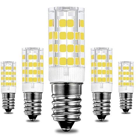 KINDEEP E14 rosca Edison pequeña bombillas LED, 5W/400LM, equivalente a una bombilla