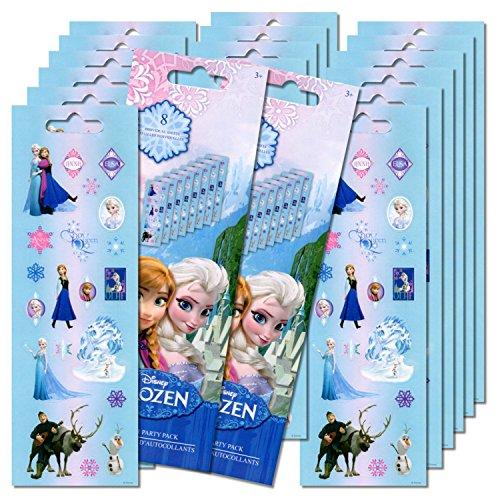 Disney Frozen Stickers Party Favors 16 Sheets ()