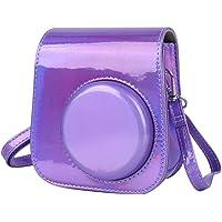 Bolso para cámara,PU Vintage Impermeable Resistente al Desgaste Bolso de Hombro para cámara Almacenamiento Jaula de…