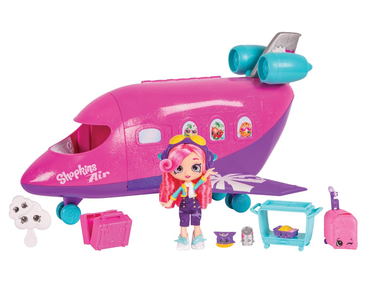 Shopkins Shoppies Skyanna's Jet Playset Flair Leisure Products HPP21000