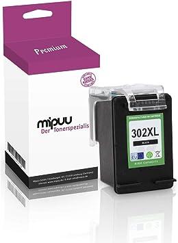 Mipuu cartucho de tinta compatible con HP 302XL 302 XL F6U68AE ...