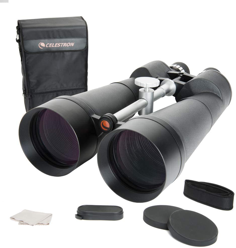Celestron – SkyMaster 25X100 Astro Binoculars – Astronomy Binoculars with Deluxe Carrying Case – Powerful Binoculars – Ultra Sharp Focus
