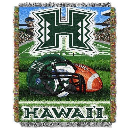 Northwest Tapestry NCAA Team Hawaii Throw by Northwest