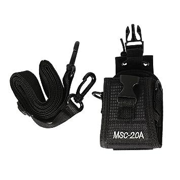 MSC-20A Walkie Talkie Funda para GP328 Wouxun KG-UV8D CB Radio BAOFENG UV-5R UV-5RE Plus UV-B5 UV-82