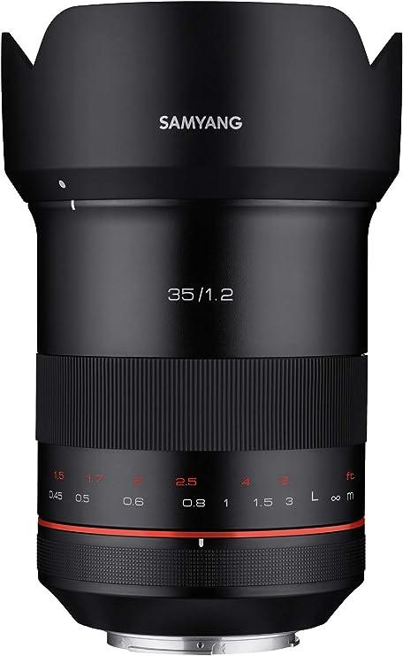 Samyang Xp 35mm F1 2 Canon Ef Manuelles Weitwinkel Kamera