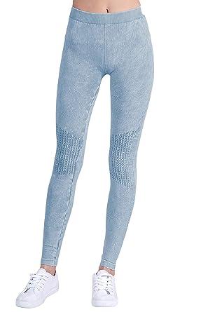 6538cf34d6d05a Nikibiki Womens Seamless Vintage Knee Checker Leggings at Amazon Women's  Clothing store: