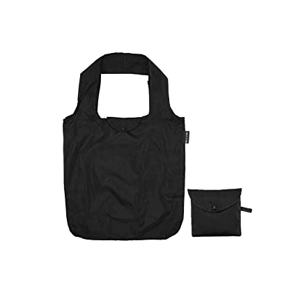 Meyliving Bolsa Plegable para la Compra, Color Negro: Amazon ...