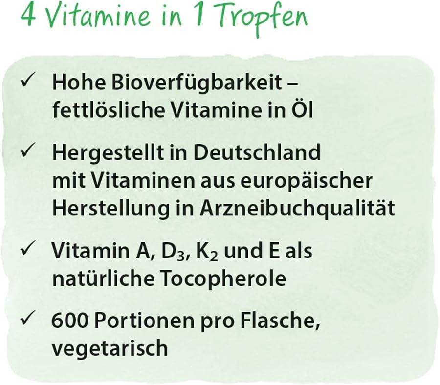 Dr. Jacobs - Vitamin DEKA Öl - 20 ml: Amazon.es: Salud y cuidado ...