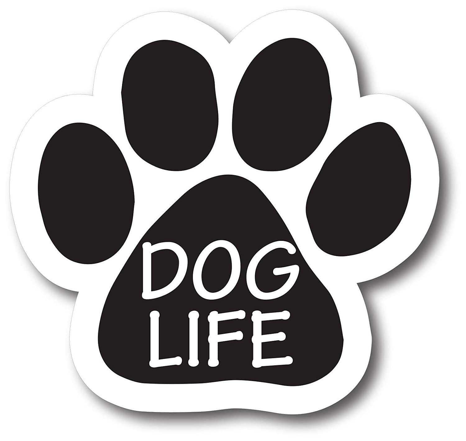 Magnet Me Up Dog Life Pawprint Car Magnet Paw Print Auto Truck Decal Magnet P-50