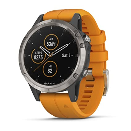 Amazon.com: Garmin fēnix Multisport GPS Smartwatch, Zafiro