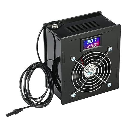 KKmoon 70W Termostato Enfriador Temperatura燙ontrolar Pescado Tanque Sal 0 Fresco燗gua燾on