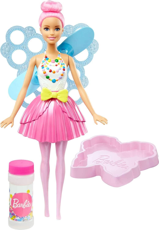 Mattel FRB08 Barbie Dreamtopia mu/ñeca Hada alas m/ágicas rubia juguete +3 a/ños