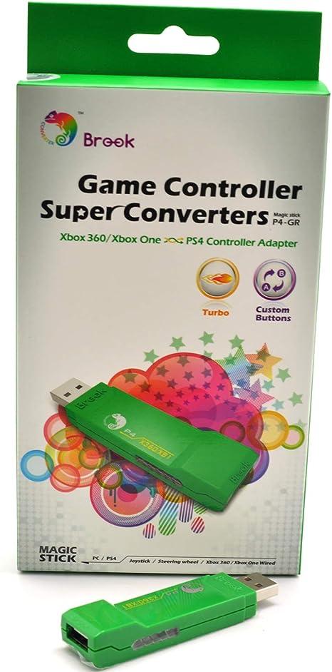 Brook Super Converter - Adaptador de Mando para Xbox 360/Xbox One ...
