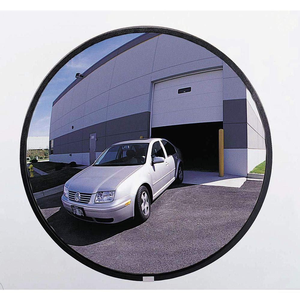Outdoor See All Wide-Angle Convex Plexiglas Acrylic Mirror 26 Diameter