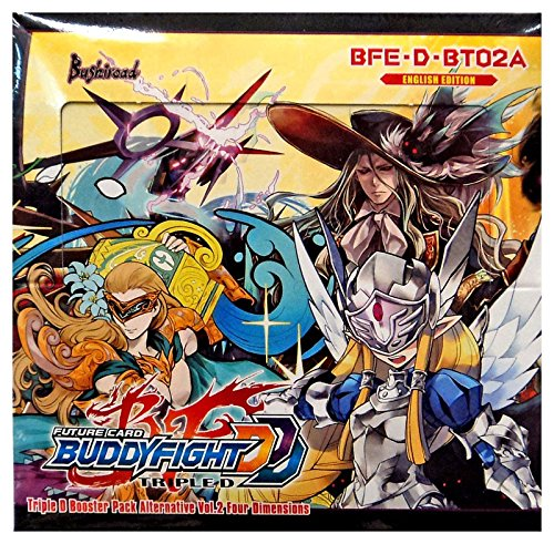 Triple Four - BuddyFight Triple D Four Dimensions Alternative V2 Booster Box - 30 packs / 5 cards